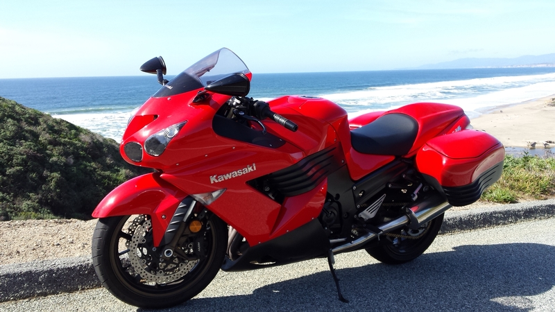 2006 red zx 14 for sale in sf ca. Black Bedroom Furniture Sets. Home Design Ideas