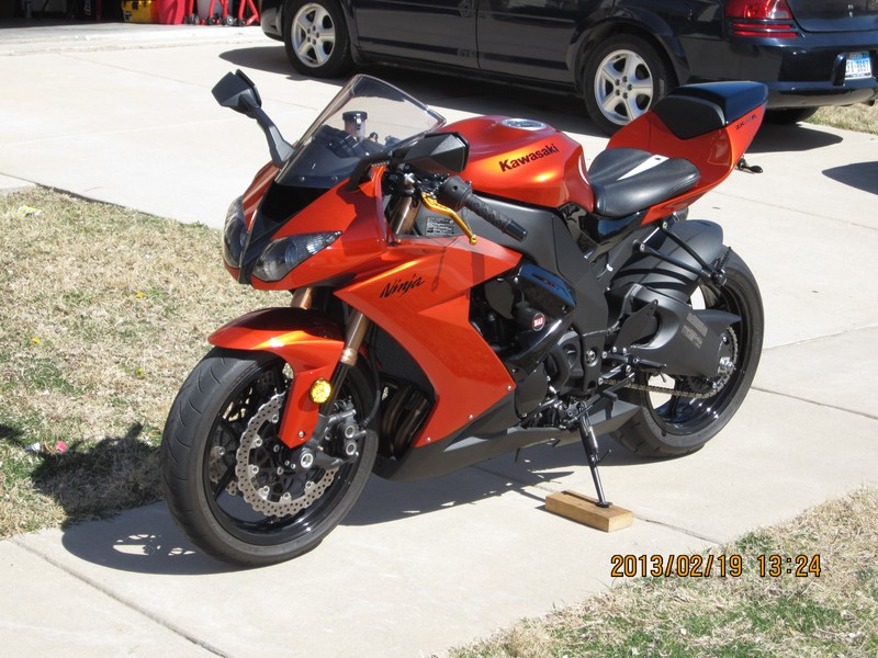 My New (To Me) 2009 ZX10R