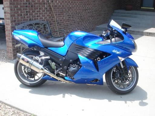 2007 ZX14 Blue
